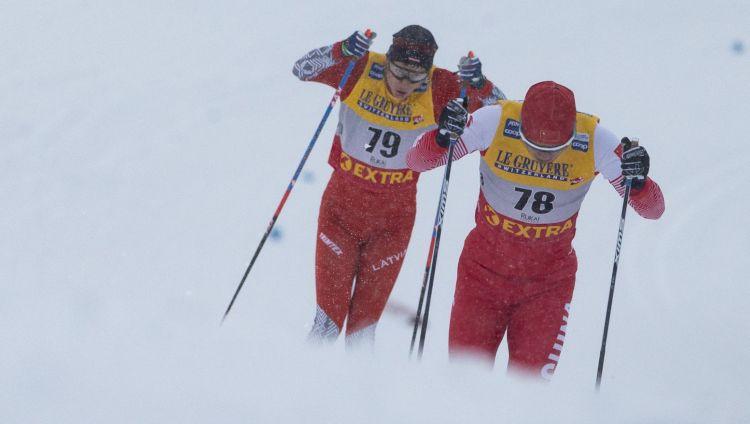 """Bikše ieņem 54.vietu """"Tour de Ski"""" 15 kilometru sacensībās ar kopēju startu"""