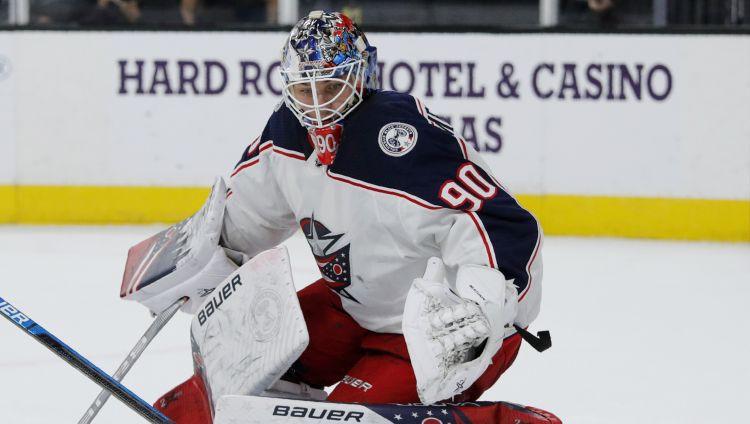 Merzļikins piekāpjas Svečņikova vārtiem NHL sezonas lieliskāko notikumu balsojumā