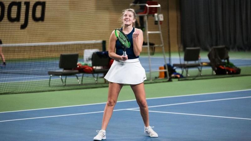 Tomase Liepājā kļūst par čempioni debijas ITF turnīrā