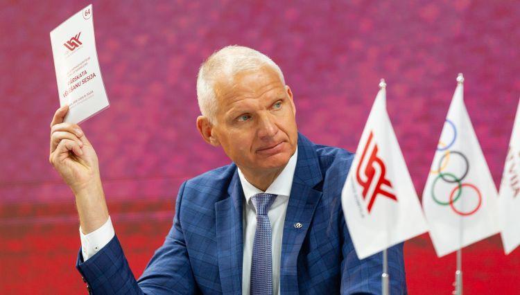 Latvijas olimpiskajā delegācijā Tokijā 10% nevakcinēsies