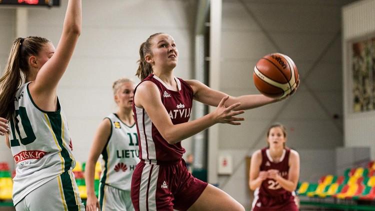 U16 meitenes dod dubultsitienu Lietuvai un izcīna Baltijas kausu