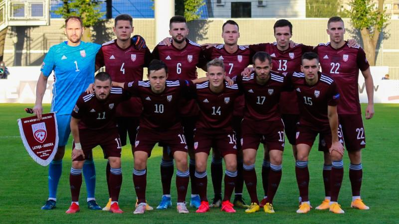 Vācija - Latvija 7:1 (spēle galā)