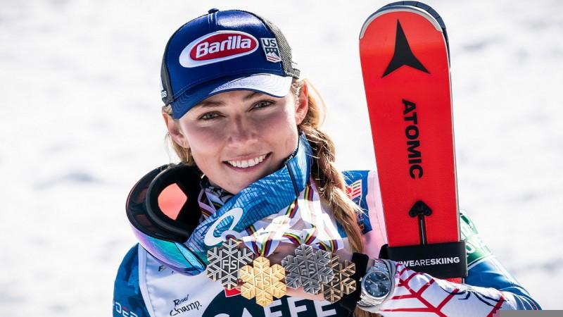 Jauns rekords vairāku medaļu izcīnījušo ziņā PČ kalnu slēpošanā