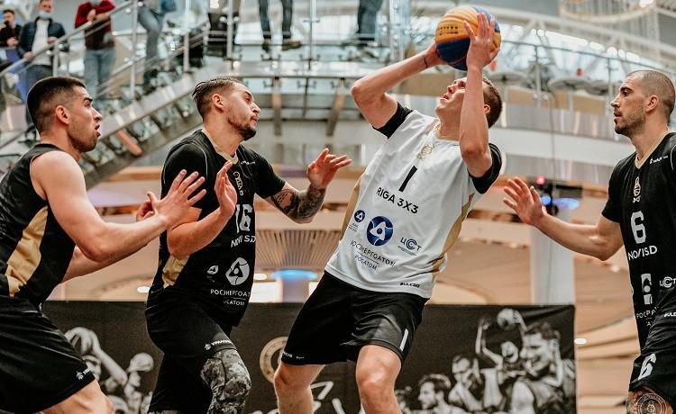 """""""Riga"""" 3x3 basketbolisti Eiropas Vienotās līgas finālposmā finišē otrajā vietā"""