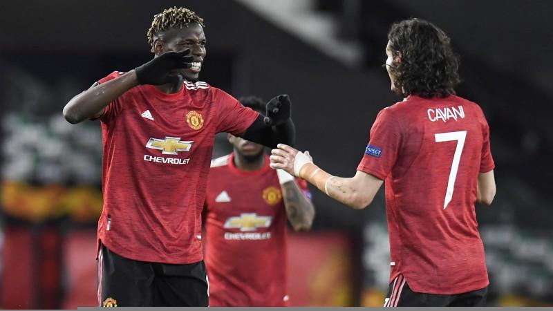 """""""United"""" atspēlējas un ļoti rezultatīvā spēlē sagrauj """"Roma"""""""