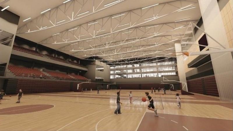 Rīgas pašvaldībai piederošu īpašumu Barona ielā nodod jaunas sporta halles būvniecībai