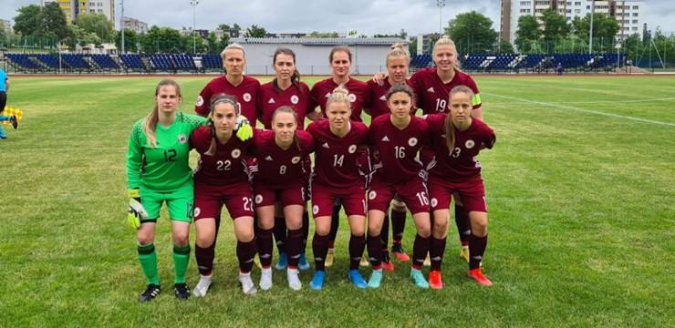 Sieviešu izlase pēc zaudējuma Igaunijai Baltijas kausu noslēdz pēdējā vietā