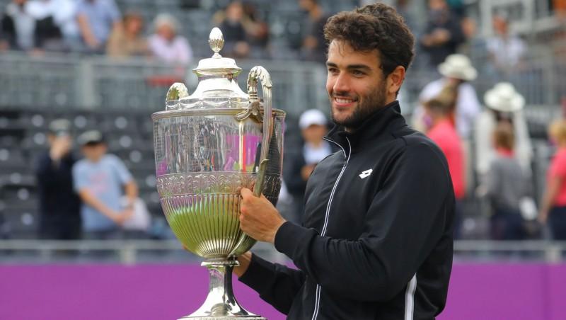 Ambērs un Berretīni pirmoreiz uzvar ATP 500 turnīros