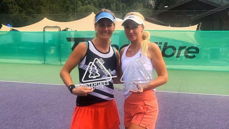 Marcinkeviča pēc 3,5 gadu pārtraukuma uzvar ITF dubultspēļu turnīrā