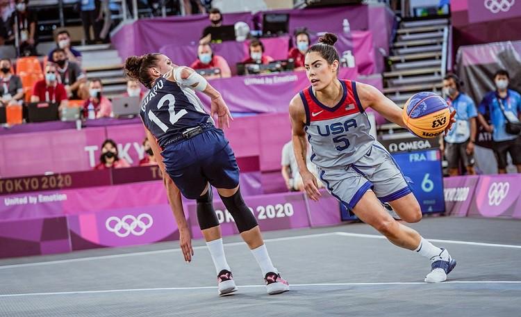 OS 3x3 basketbola turnīru pārliecinoši sāk basketbolistes no ASV un Krievijas