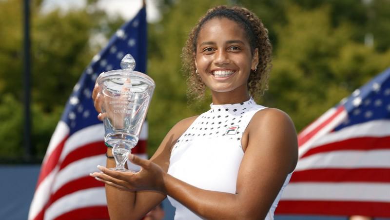 """Montgomerija kļūst par piekto ASV čempioni pēdējos 10 """"US Open"""" junioru turnīros"""